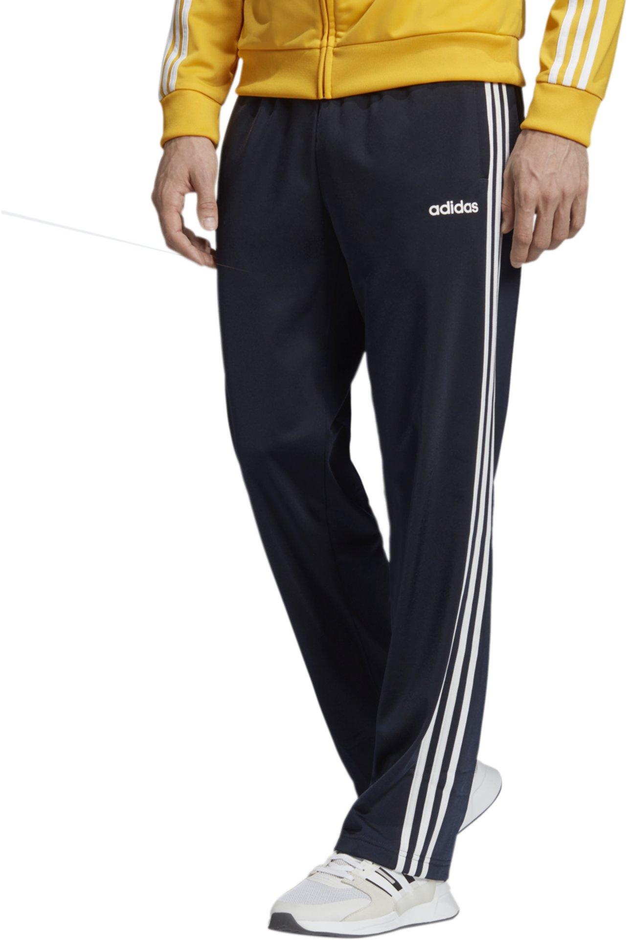 Трикотажные брюки с открытыми подолами Big & Tall Essential Adidas