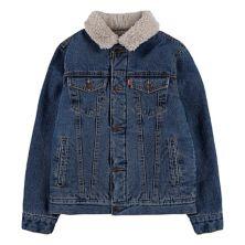 Куртка для мальчиков 8-20 Levi's® с воротником из искусственной кожи с воротником-стойкой Levi's®