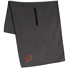 """Cleveland Cavaliers 19"""" x 41"""" Gray Microfiber Towel Unbranded"""