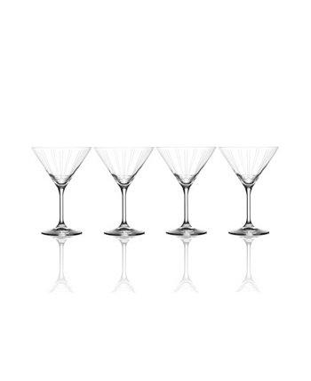 Набор из 4 бокалов для мартини Berlin, 9,5 унций MIKASA