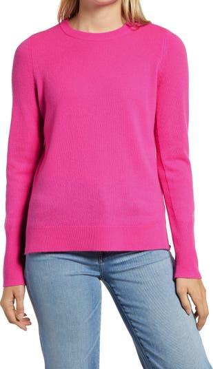 <sup> ® </sup> Кашемировый свитер с круглым вырезом Halogen