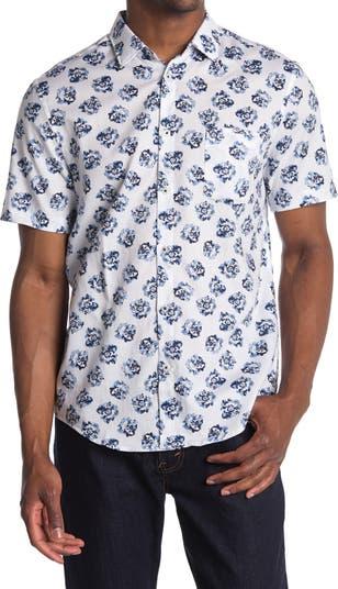 Тканая рубашка с коротким рукавом Good Man Brand