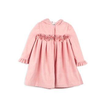 Маленькая девочка & amp; Пальто для верховой езды с капюшоном для девочек Joe-Ella