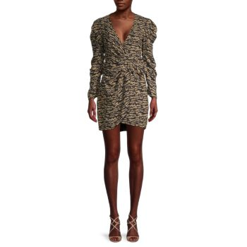 Мини-платье Tracey Twist Bardot