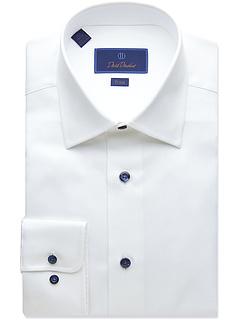 Рубашка с микро-фактурой Trim Fit David Donahue