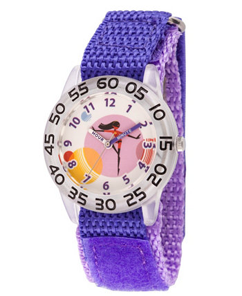 Дисней The Incredibles 2 Violet Parr Девочки 'Прозрачные Пластиковые Часы Учителя Времени Ewatchfactory