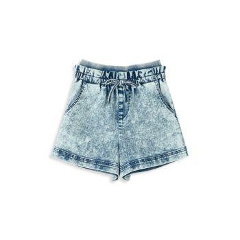 Girl's Paperbag Shorts
