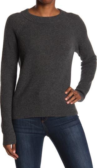Вязаный свитер Peak Cashmere в рубчик FAHERTY BRAND