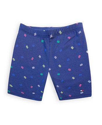 Велосипедные шорты для маленьких девочек Tommy Hilfiger