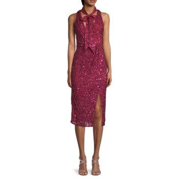 Платье-футляр Sia с пайетками Parker