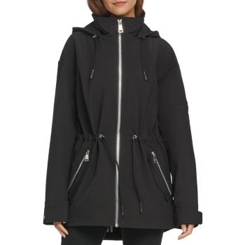 Куртка из софтшелла с молнией спереди DKNY
