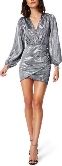 Мини-платье Bonny с длинными рукавами и оболочкой Ramy Brook