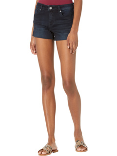 Black The Essex Shorts with Slit in Into The Dark Blank NYC