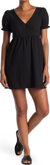 Мини-платье с объемными рукавами Wishlist