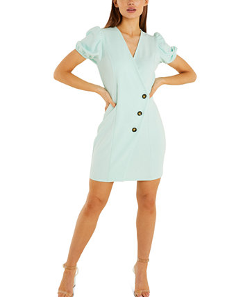 Асимметричное платье с отделкой на пуговицах Quiz