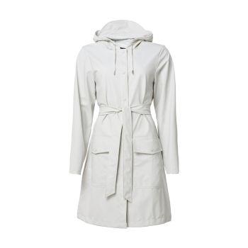 Практичное пальто с поясом Rains