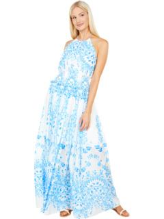 Halter Midi Dress BCBGMAXAZRIA
