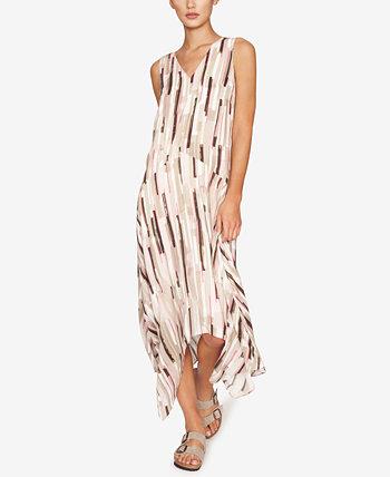Макси-платье с платком и подолом B new york