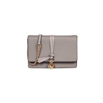 Кожаная сумка через плечо Mini Alphabet Chloe