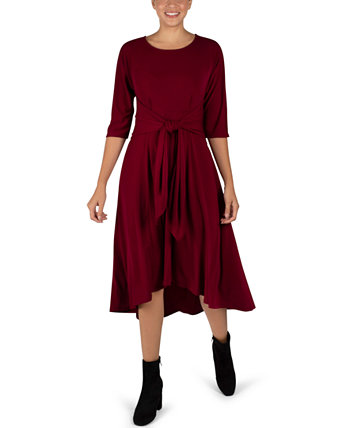 Платье-клеш с завязками спереди Robbie Bee