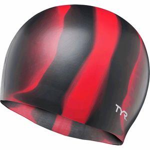 Многоцветная силиконовая шапочка для плавания TYR TYR