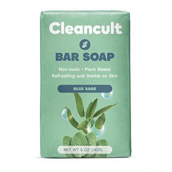 cleancult Bar Soap - Blue Sage Scent Cleancult