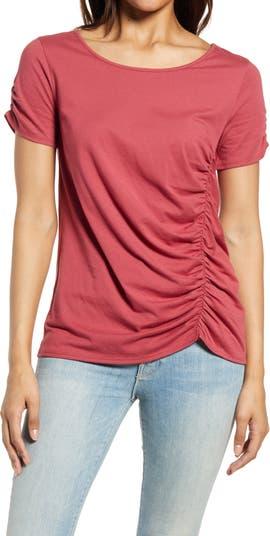 <sup> ® </sup> Вязаная футболка со сборками Caslon