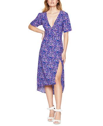 Платье миди с V-образным вырезом и боковыми разрезами BCBGeneration