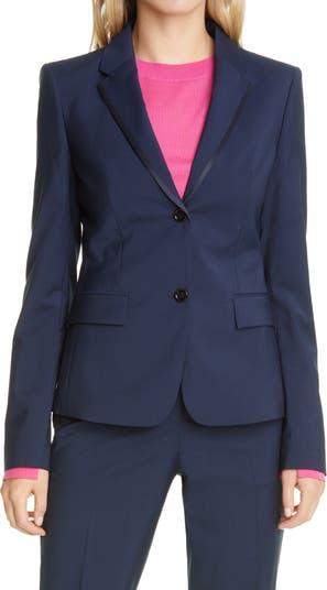 Jabixa Wool-Blend Blazer BOSS Hugo Boss