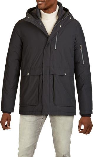 Фактурная куртка-парка с капюшоном COLE HAAN SIGNATURE