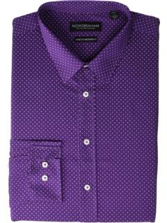 Эластичная классическая рубашка Pin Dot CVC Nick Graham