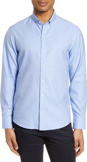 Рубашка добби классического кроя на пуговицах Bethea Zachary Prell