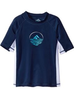 Paradise UPF 50+ Sun Protective Rashguard Swim Shirt (Little Kids/Big Kids) Kanu Surf