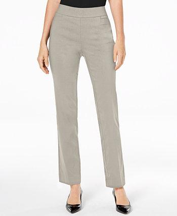 Брюки Slim-Leg с брюками Pull-On, созданными для Macy's J&M Collection