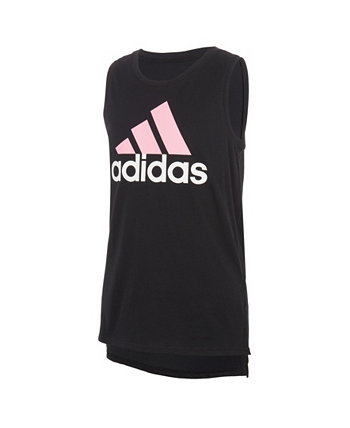 Футболка Little Girls Muscle Tank Adidas