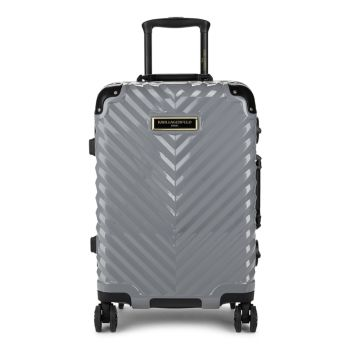 Georgette Chevron Hard Shell Luggage Karl Lagerfeld Paris