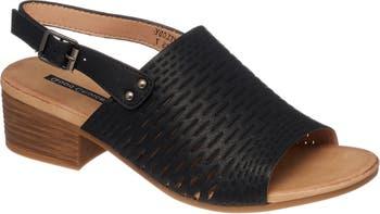 Сандалии на блочном каблуке с ремешком на пятке Meldoy Good Choice New York