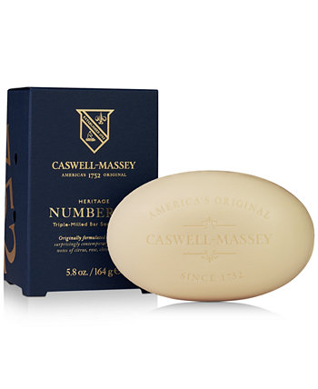 Heritage Number Six Bar Soap, 5.8-oz. Caswell Massey