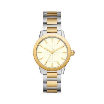 Двухцветные часы с браслетом из нержавеющей стали Gigi Tory Burch
