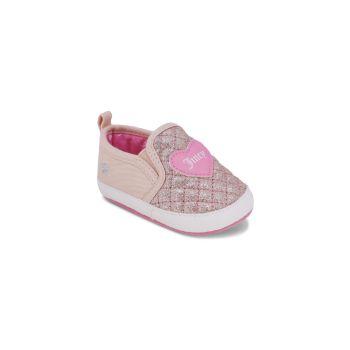 Блеск и глиттер Baby Girl's Walnut Creek Glitter & amp; Лоферы с логотипом Heart Juicy Couture
