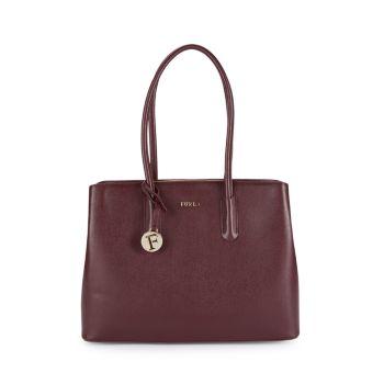 Кожаная сумка-тоут Tessa Furla