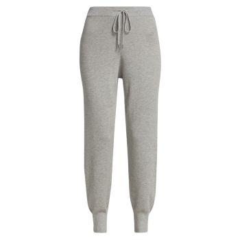 Кашемировые шелковые брюки без застежки ATM Anthony Thomas Melillo