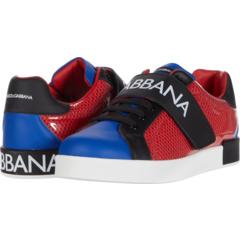 Snk Bassa Allacciata Rete + Pvc + (Большой Ребенок) Dolce & Gabbana Kids
