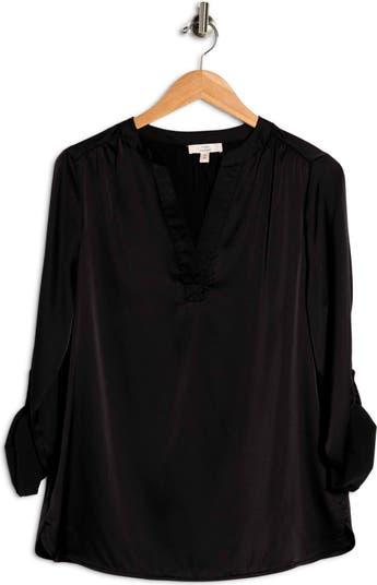 Блуза из эластичного атласа Como Vintage