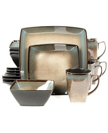 Набор столовой посуды Lanark из 16 предметов Gibson