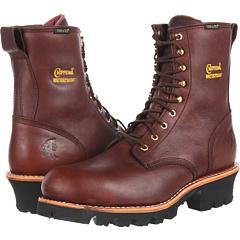 "8"" Waterproof Insulated Steel Toe Logger Chippewa"