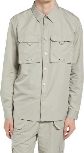 Верхняя рубашка с длинным рукавом и карманами карго NATIVE YOUTH