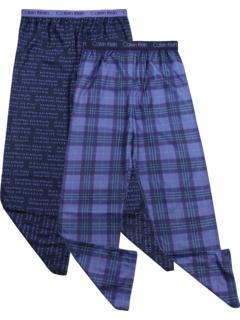 Двухкомпонентный набор брюк-джоггеров с начесом (для больших детей) Calvin Klein