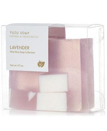 Мыло с лавандой и алоэ вера, 4,5 унции. Yuzu Soap