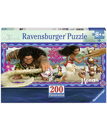 Головоломка Диснея Моана Панорама - Приключения Моаны - 200 штук Ravensburger